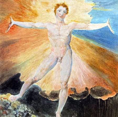 William Blake Albion Rose